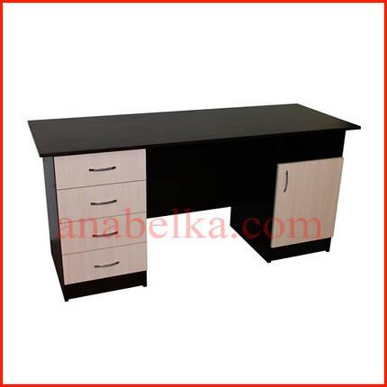 Стол письменный  с ящиками  ОН - 50/1(Ника), фото 2