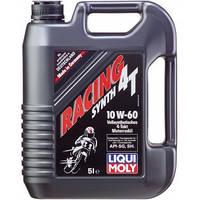 Синтетическое моторное масло Liqui Moly Racing Synth 4T 10W-60, 5л