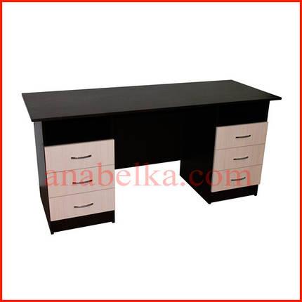 Стол письменный  с выдвижными ящиками   ОН - 52/1(Ника), фото 2