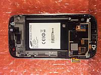 Samsung GT-i9300 дисплейная часть корпуса ОРИГИНАЛ Б/У, фото 1