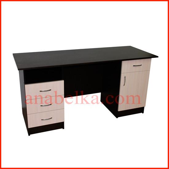 Стол офисный  с выдвижными ящиками  ОН - 53/1(Ника)