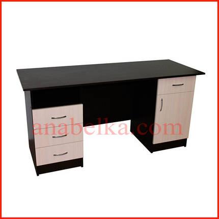 Стол офисный  с выдвижными ящиками    ОН - 53/1, фото 2