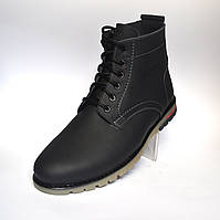 Подросток. Синие зимние ботинки Rosso Avangard Falconi Blu Teendream кожаные
