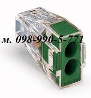 Строительно-монтажные клеммы для распределительных коробок на 2 провода