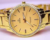 Женские наручные часы OMEG-A Master Co-Axail Cronometer Gold
