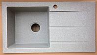 Мойка кухонная из искусственного камня Квадро