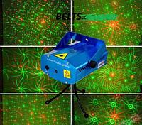 Лазерный проектор Mini Laser  6 в 1 (диско лазер,проектор,мини лазер)
