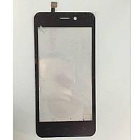 Оригинальный тачскрин / сенсор (сенсорное стекло) для Doogee Valencia DG800 (черный цвет)