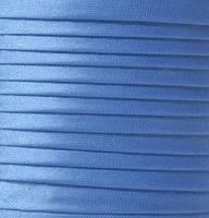 """Бейка косая """"Kotex""""№8077(св.голубой/фиол) атласная 110 ярд. (100,60 м)"""