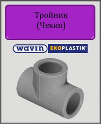 Тройник полипропиленовый 32 Wavin Ekoplastik