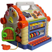 Развивающая музыкальная игрушка теремок 9196 Доставка из Харькова