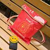 Стильная лаковая сумка-мешок , фото 5