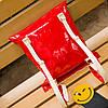 Стильная лаковая сумка-мешок , фото 6