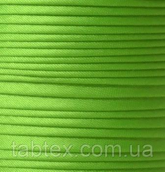 "Бейка косая ""Kotex""№8047(салат/ярк) атласная 110 ярд. (100,60 м)"