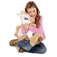 """Интерактивная игрушка 'Белая Пони Кэнди из серии """"Зверюшки с эмоциями"""""""
