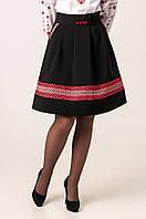 Женская юбка Иванка с этническим орнаментом