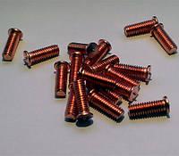 Шпилька приварная резьбовая DIN 32501 омедненный, кл.пр. 4,8