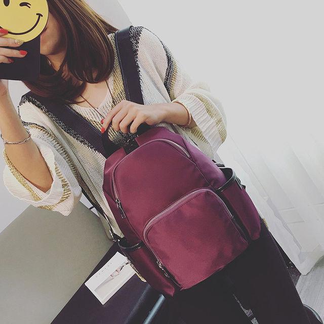 Стильный рюкзак из нейлона
