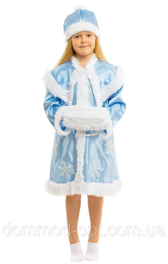 Дитячий костюм для дівчинки Снігуронька