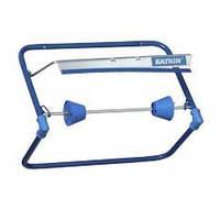 Держатель для протирочных материалов настенный металлический синий