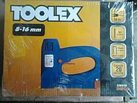 Toolex Электрический Степлер 25Е950 8-16мм