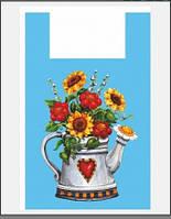 "Пакет майка ""Чайник"" Леоми 38x60 (уп.100шт)"