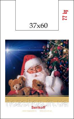 """Пакет майка """"Дед Мороз"""" Джерела (37+16x60/35мк) (уп.100шт)"""