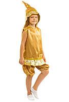 Детский карнавальный костюм Рождественский колокольчик, звоночек