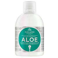 Увлажняющий шампунь для волос Kallos Aloe Shampoo 1000мл