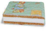 Детский матрас в кроватку Суперлюкс (кокос-поролон-кокос)