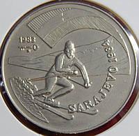 Монета Кубы 1 песо. 1983 год.