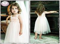 Нарядное платье для девочки р-ры 92