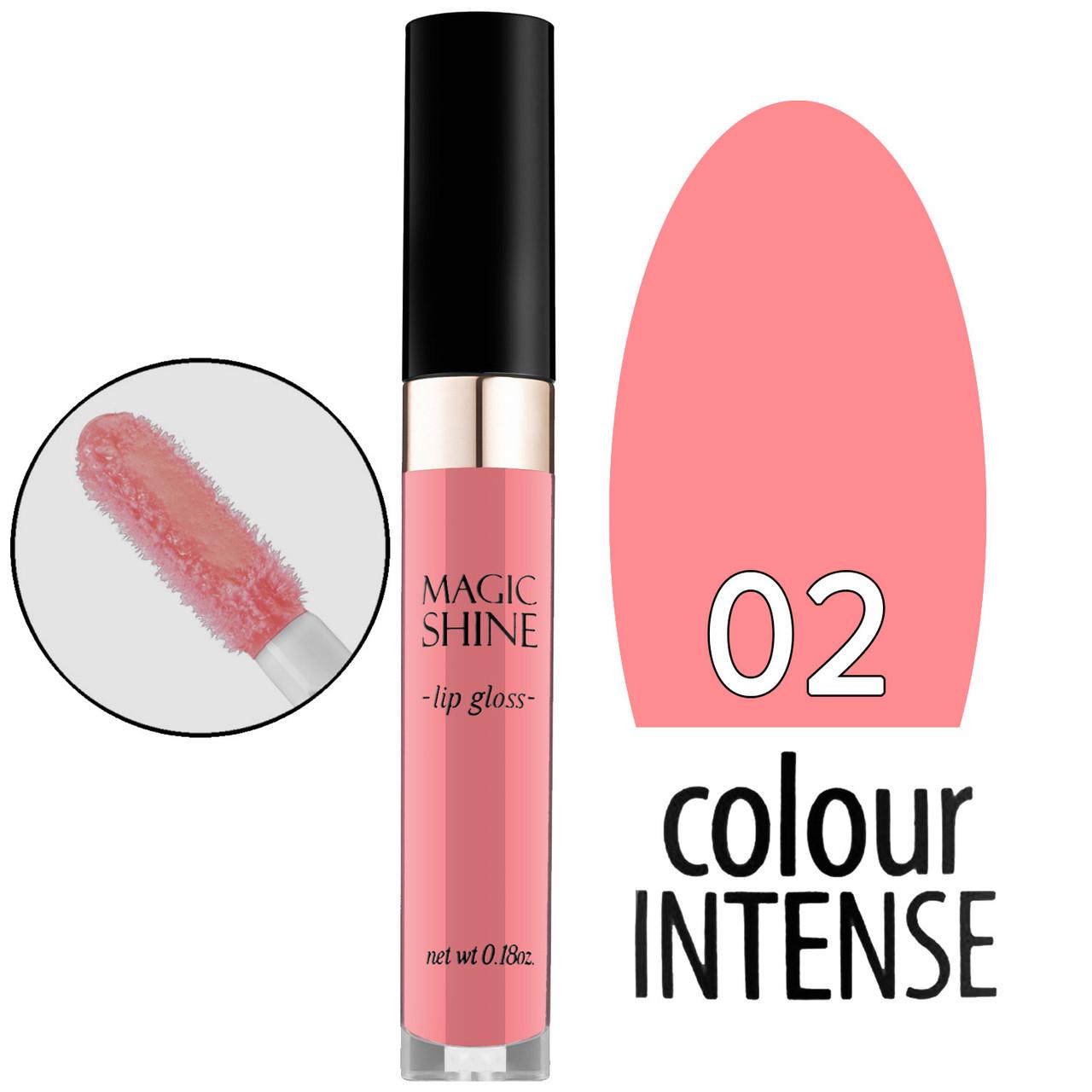 Colour Intense - Блеск для губ Magic Shine LG-103 Тон №02 light pink coral глянцевый