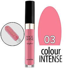 Colour Intense - Блеск для губ Magic Shine LG-103 Тон №03 pink rose глянцевый