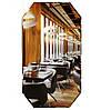 Качественное зеркало в спальню 90х50 см + фацет кромка в подарок