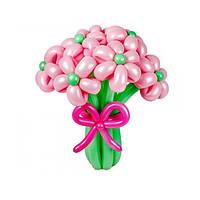 Букет из воздушных шариков, цветы из воздушных шариков. В букете 9 цветочков
