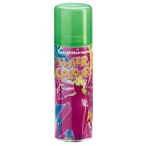 Спрей для волосся METALLIC HAIR COLOUR зелений, 125 мл