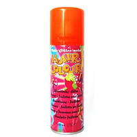 Спрей для волос METALLIC HAIR COLOUR оранжевый, 125 мл