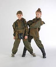 Детский военный костюм Горка цвет хаки, фото 2