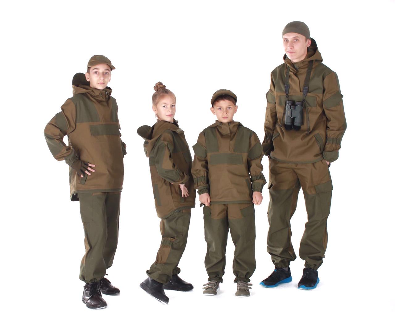 Детский военный костюм Горка цвет хаки