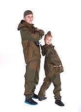 Детский военный костюм Горка цвет хаки, фото 3