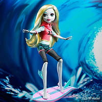 Кукла монстер хай Лагуна блю на скутере Monster High Surf-To-Turf Scooter Vehicle with Lagoona Blue Doll