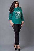 Красивая женская кофта из ангоры, размеры: 50-52,54-56,58-60