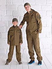 Детский военный костюм для мальчиков Киборг цвет Хаки, фото 3