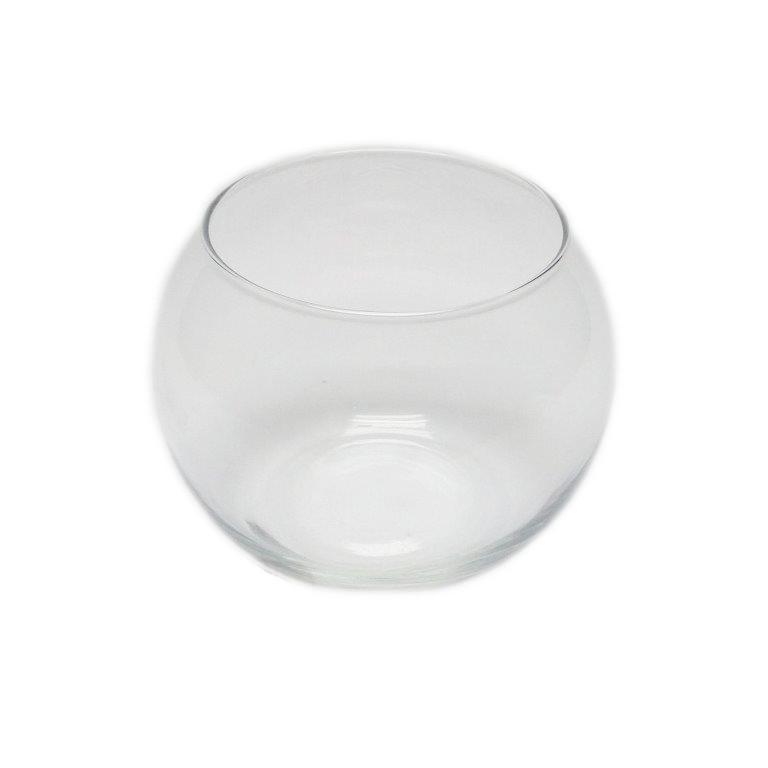 Круглая ваза 0,8 л, h 100 мм, Ø 120 мм