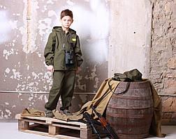 Детский камуфляж костюм для мальчиков Лесоход цвет хаки, фото 2