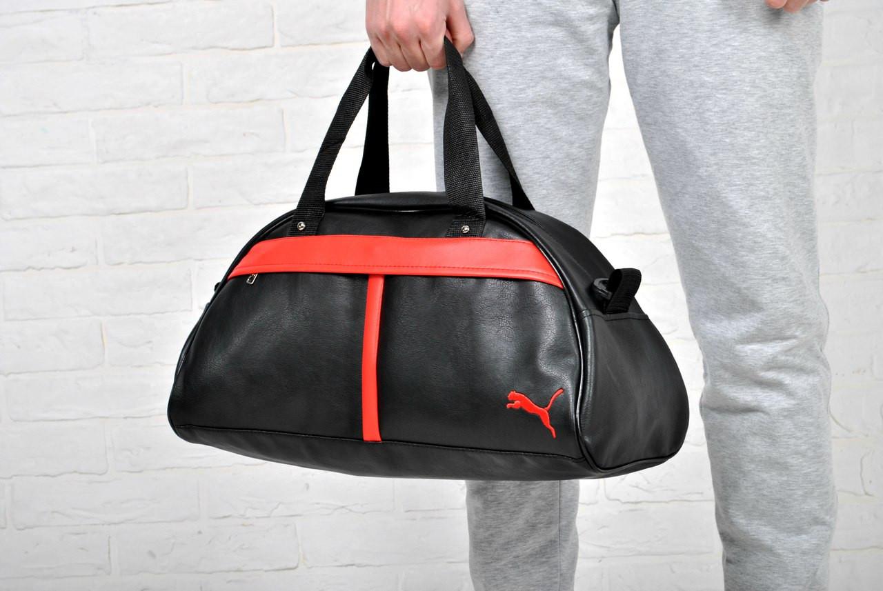61b2230661a2 Спортивная сумка пума (Puma), кож. зам. реплика, цена 270 грн., купить в  Киеве — Prom.ua (ID#443577676)