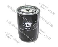 SCT SM187 - фильтр масляный(аналог sm-187)