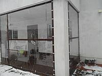Мягкие окна из прозрачной пленки ПВХ