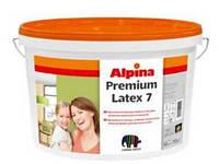 Краска шелковисто-матовая латексная ALPINA Premiumlatex 7 B1 10л